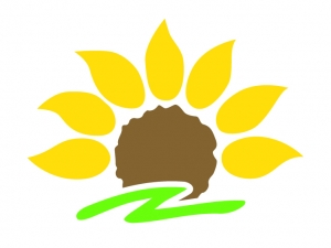 Praxis-Logo_stilisierte Sonnenblume